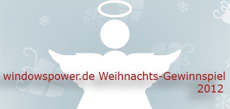 windowspower.de Weihnachts-Gewinnspiel 2012