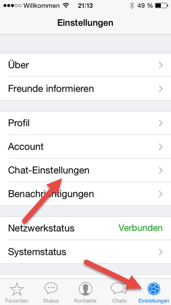 iphone-einstellungen iphone-einstellungen