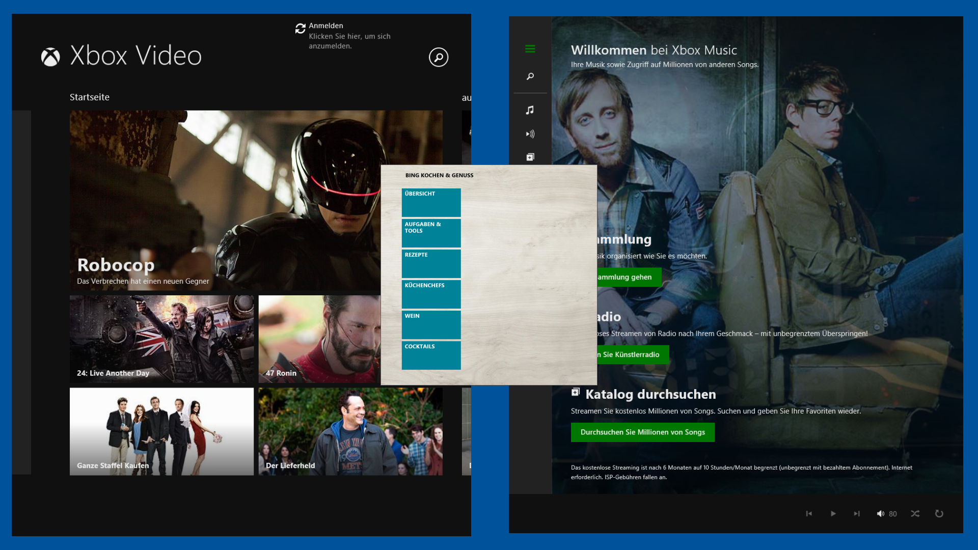 Windows 8.1 Splitscreen