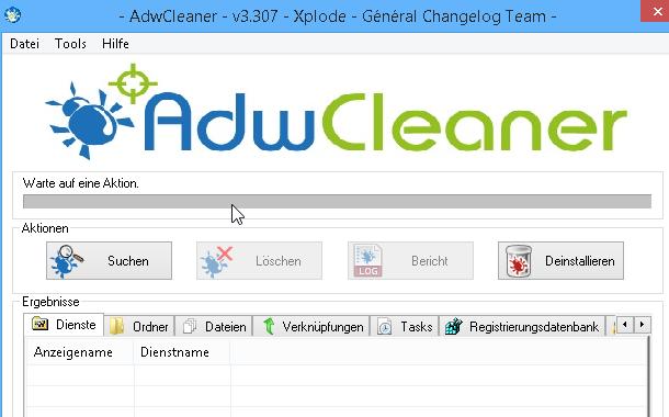 AdwCleaner OMIGA PLUS entfernen