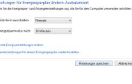 Automatische Abschaltung des Monitors verhindern bei Windows 8.1