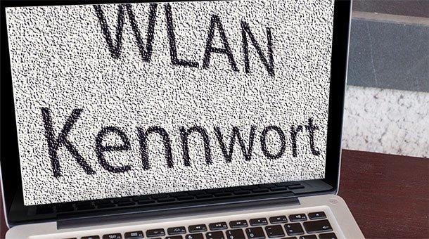 WLAN-Kennwort
