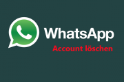 WhatsApp Account kündigen