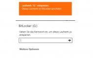 Windows 8.1 – USB Stick mit BitLocker verschlüsseln