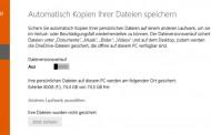 Windows-Backup Sicherung auf externe Festplatte erstellen
