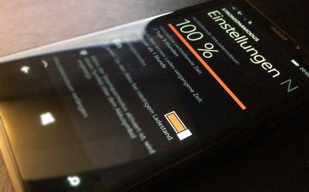 Windows Phone 8 1 Praktische Tipps für längere Akkulaufzeit