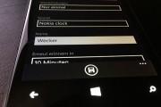 Wecker einrichten bei Windows Phone 8.1