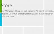 Windows Store deaktivieren unter Windows 8.1