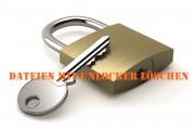 Dateien löschen mit Unlocker