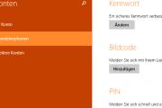 Administrator Passwort ändern bei Windows 8.1
