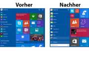 Windows 10 – Altes Startmenü aktivieren