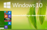 Windows 10 Passwortabfrage deaktivieren