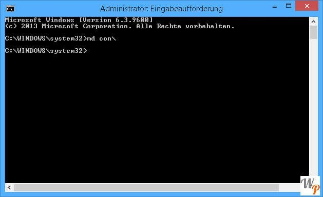 Unloeschbaren Ordner erstellen bei Windows 81