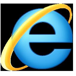 ie9 logo - Internet Explorer Fenster zu klein