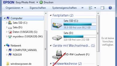 papierkorb unter computer 390x220 - Windows 7: Papierkorb unter Computer-Arbeitsplatz anzeigen