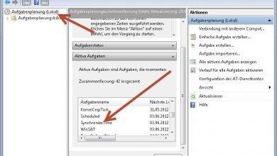 aufgabenplanung lokal 390x220 - Uhr bei jedem Systemstart synchronisieren unter Windows 7