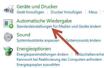 Automatische-Wiedergabe-standardeinstellung