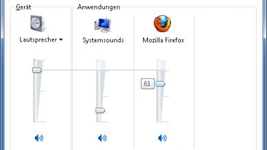 programme leise 390x220 - Bestimmte Programme zu leise oder geben keinen Ton unter Windows 7