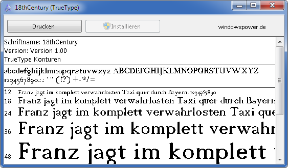 schriftarten anzeigen fonts - Windows 7: welche Schriftarten - Fonts sind Installiert