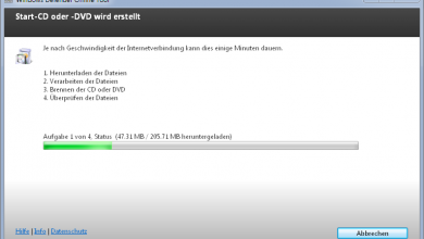 start cd dvd wird erstellt 390x220 - Mit Windows Defender Offline Rettungs-CD/DVD Viren, Schadsoftware, Rootkits entfernen