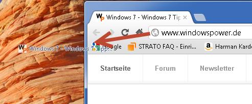 verknuepfung webseiten desktop - Verknüpfung von Webseiten auf dem Desktop