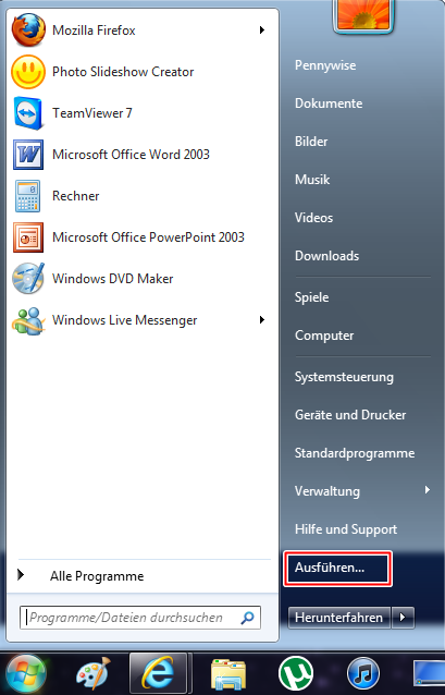 11 - Problemaufzeichnung unter Windows 7 nützen