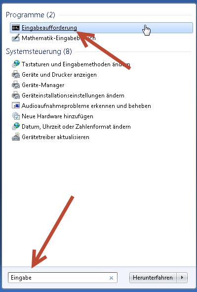 Internet Explorer reparieren eingabeaufforderung