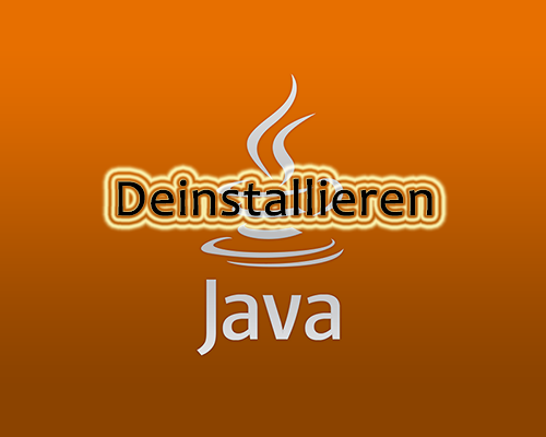 java2 - So deinstallieren Sie Java