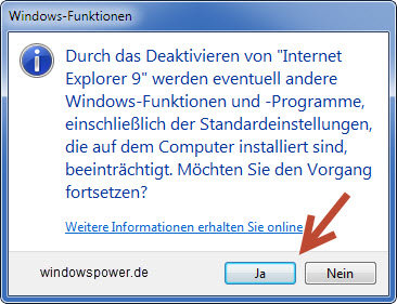windows-funktionen-meldung