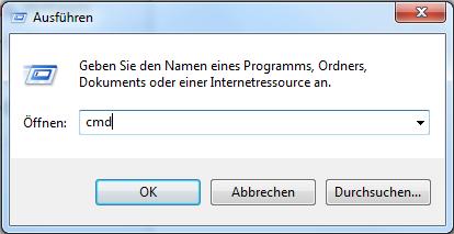 5 - Windows 7 per CMD Befehl zeitgesteuert herunterfahren