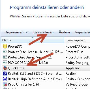 iTunes wurde durch die Datenausführungsverhinderung geschlossen