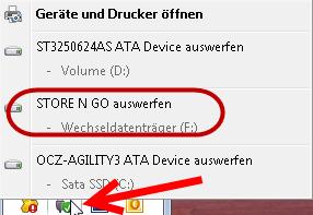 """Möchten Sie """"Wechseldatenträger (X:)"""" überprüfen und reparieren? usb-auswerfen"""