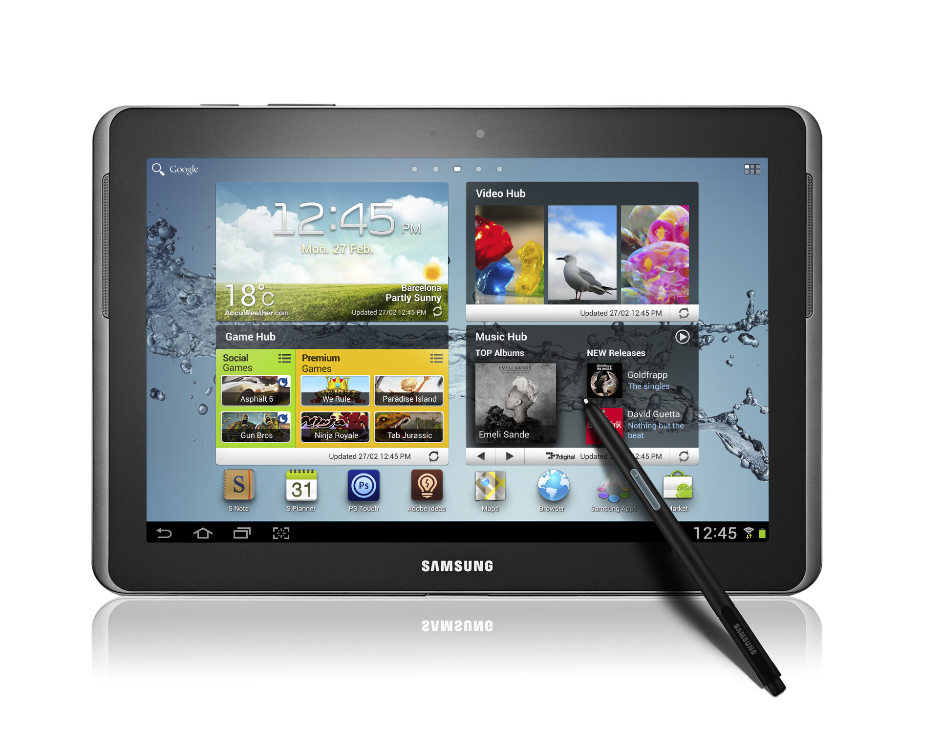 galaxy note 10 1 - Samsung Galaxy Note 10.1