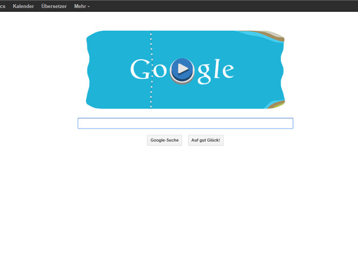 unbenannt - Google Doodle mit Kanu