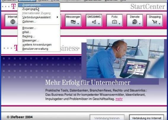 01 567x405 - Anleitung für Internetzugang über ISDN für T-Online Startcenter