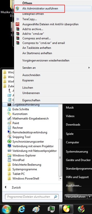 1234 - Windows 7 Reparieren von defekten Systemdateien