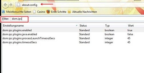 18 - Firefox Plugin-Container deaktivieren