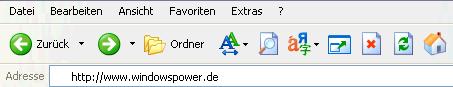 24 - Symbolleiste bei Internet Explorer anpassen