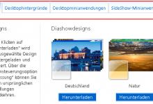 designs diashowdesigns 220x150 - Designs Diashowdesigns Desktophintergründe SideShow-Anwendungen für Windows 7