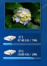 desktop drive - Laufwerke auf dem Desktop anzeigen unter Windows 7 mit Sushi DriveInfo
