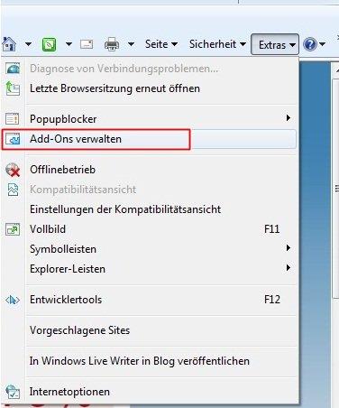 internet1 - Internet Explorer schneller Starten