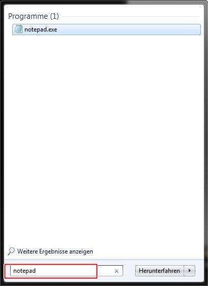 notepad - Computer zum Sprechen bringen Windows 7