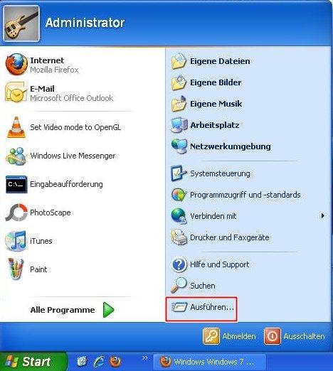 Bild von Temporäre Dateien löschen