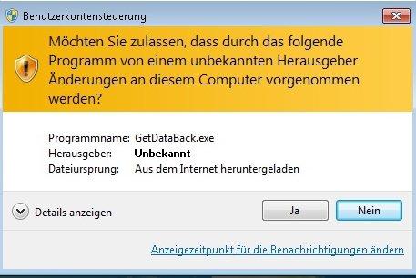 uac3 - Benutzerkontensteuerung UAC Deaktivieren Windows 7