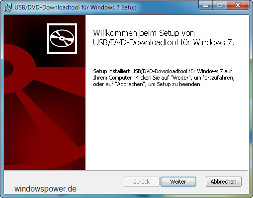 usb1 - Windows 7 USB/DVD Download Tool