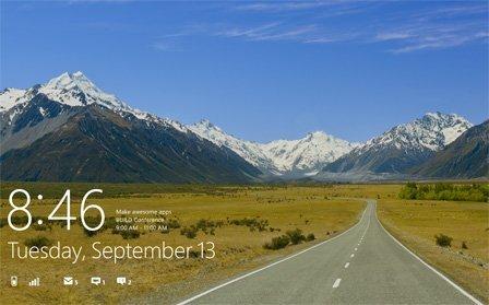 backstage anmeldebildschirm - Windows 8 Sperrbildschirm deaktivieren