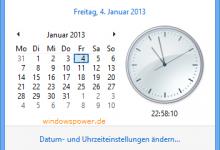 uhrzeiteinstellung 220x150 - Windows 8 Sommerzeit anpassen