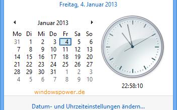 uhrzeiteinstellung 352x220 - Windows 8 Sommerzeit anpassen