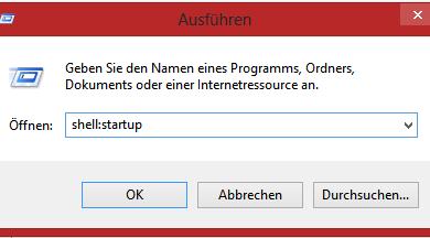 Bild von Windows 8 Autostart Programme einstellen