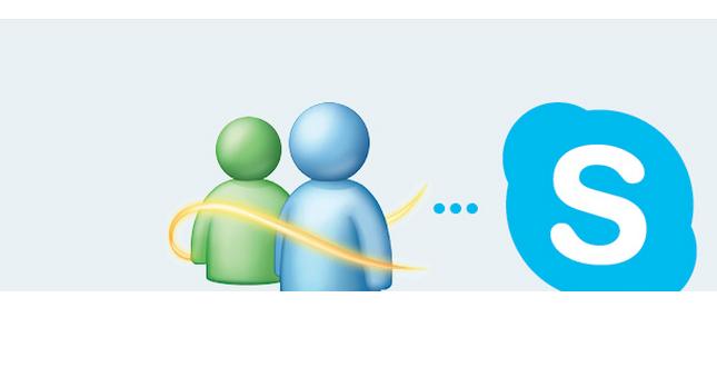 skype - MSN Messenger wird Skype